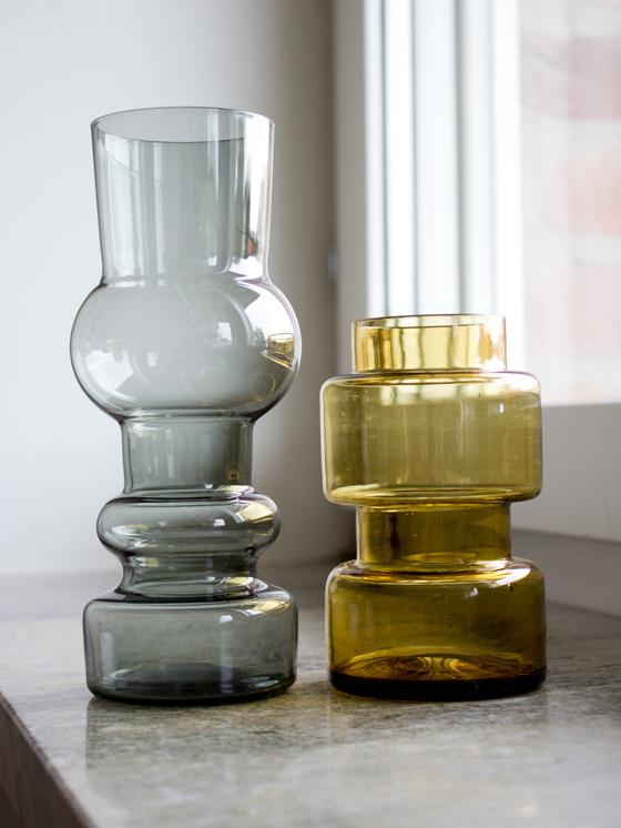 Två vaser