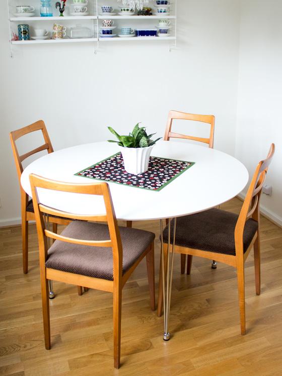 Fina Koksstolar : Nya stolar till koket  Fina fyndet