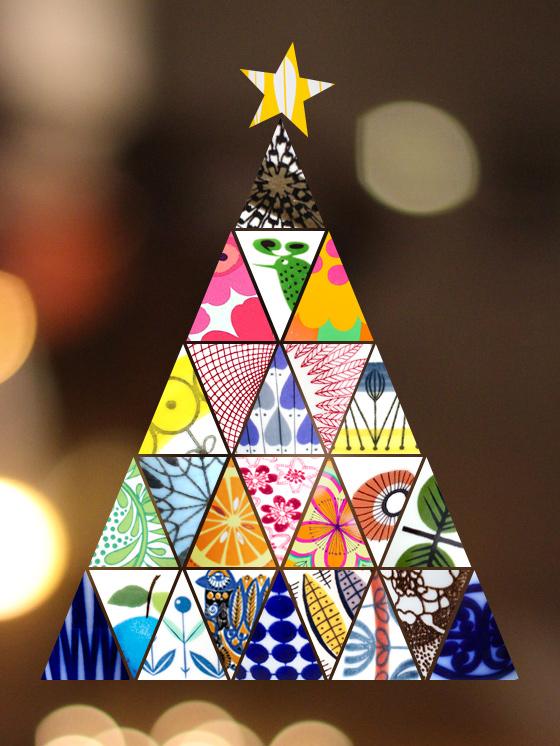 Fina fyndets julgran